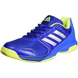 adidas Multido Essence, Zapatillas de Balonmano para Hombre, Azul (Reauni / Plamet / Azuimp), 43 1/3 EU