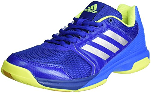 adidas Herren Multido Essence Handballschuhe, Blau (Collegiate Royal/Silver Metallic/Shock Blue), 44 2/3 EU