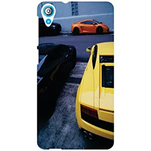 HTC Desire 820Q Back Cover - Park Your Car Designer Cases