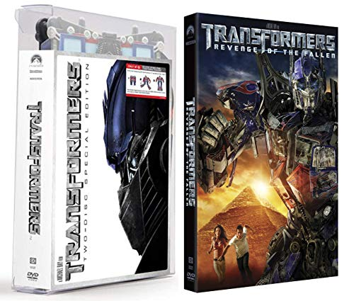 More Than Meets The Eye With This Crazy Extra Exclusive Packaging DVD Bundle: Transformers (2 Disc Exclusive 15' Optimus Prime Transforming Case) & Transformers Revenge Of The Fallen 2-Movie Bundle
