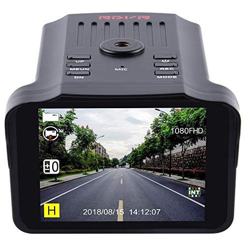 Portable H588 2.7 Inch HD TFT Screen Car DVR Camera Anti Speed Radar Detector black Portable Dvr