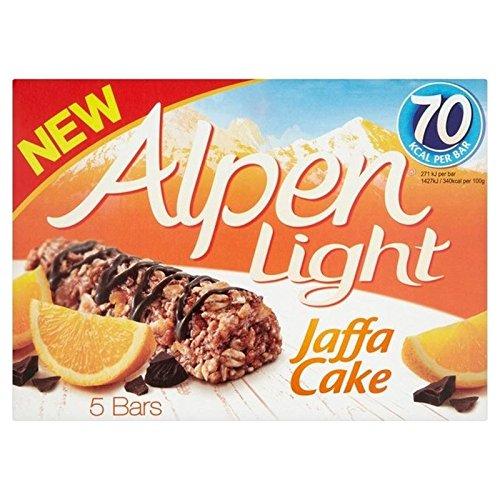 Alpen Bar Jaffacake Licht 5 x 19 g (6er Pack) -