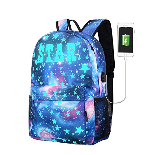 GiveKoiu-Bags Cool zaini per ragazze per scuola Cheap tela zaini per ragazzi da scuola Galaxy Under 15Dollars in medio a buon mercato, collezione viaggio zaino da escursionismo