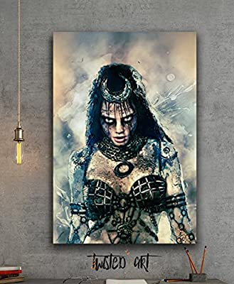 Enchantress Suicide Squad Movie - Canvas Print - Wall Art - Framed Canvas Art