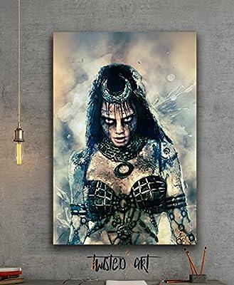 Enchantress Suicide Squad Movie - Canvas Print - Wall Art - Framed Canvas Art