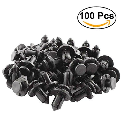 Preisvergleich Produktbild WINOMO Nieten Auto aus Kunststoff Auto Schutzblech Push Nieten Typ-Nieten Fastener 10 mm 91503-sz3 – 003 – 100 Stück