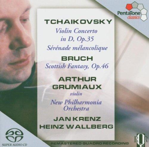 Bruch - Scottish Fantasy; Tchaikovsky - Violin Concerto by Grumiaux (2013-08-05)
