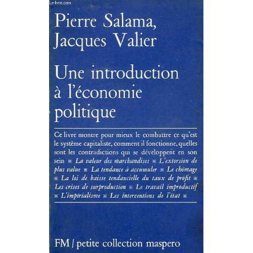 Une introduction à l'économie politique