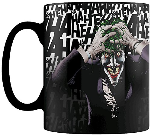 DC Comics SCMG24720 Tasse Hitze Farbwechsel, Mehrfarbig
