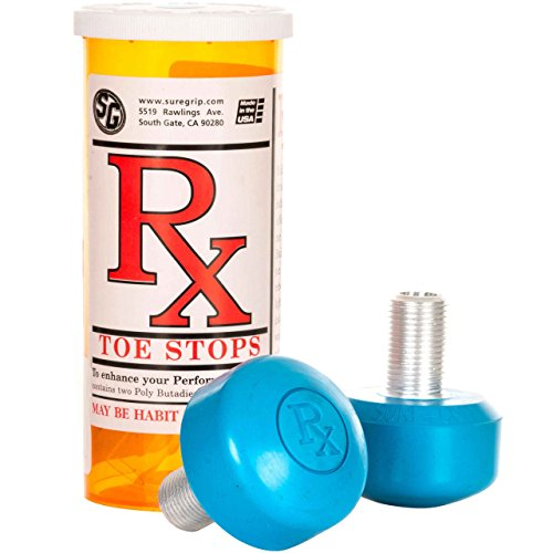 Sure Grip Toestop RX x2 Blue One size