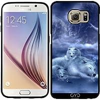 Custodia in silicone per Samsung Galaxy S6 (SM-G920) - Lupo