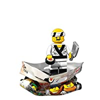 LEGO The Ninjago Movie SUSHI CHEF Minifigure (#19/20) - Bagged 71019