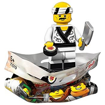 NEW LEGO SUSHI CHEF FROM SET 71019 THE LEGO NINJAGO MOVIE COLTLNM-19