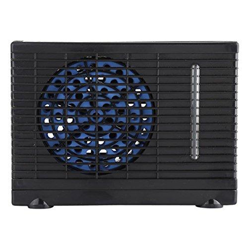 Refrigerador portátil de aire acondicionado con velocidades ajustables 12 V Mini Universal Personal...