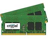 Crucial CT2K4G4SFS624A 8GB (4GB x2) Speicher Kit (DDR4, 2400 MT/s, PC4-19200, Single Rank x16, SODIMM, 260-Pin)