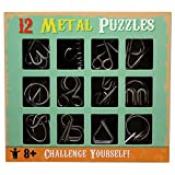 #3: Shopaholic 12 Challenging Metal Puzzles for Kids Age 3+