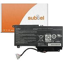 subtel® Batería premium (2500mAh) para Toshiba Satellite L50-A L55T P50-A P50T-A P55 P55T S50-A S50T-A S55T PA5107U-1BRS bateria de repuesto, pila reemplazo, sustitución