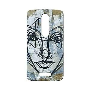 BLUEDIO Designer Printed Back case cover for Motorola Moto X3 (3rd Generation) - G4338