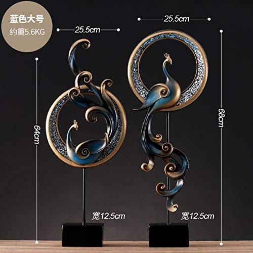 THEALEEWIN Phoenix Ornements Artisanat Mobilier De Cabinet Meubles Salon Décorations Européennes D