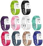 Ersatz Fitbit Charge 2 Armbänd In Packungen, BeneStellar Ersatz Klassisch Armband für Fitbit...