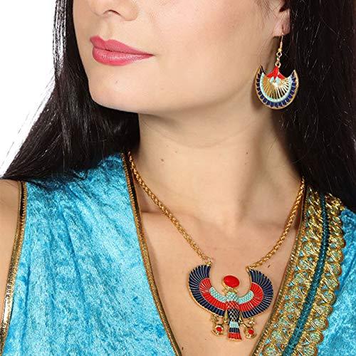 Wilbers & Wilbers Schmuckset Inka mit Ohrringen und Kette (Azteken Kostüm Schmuck)
