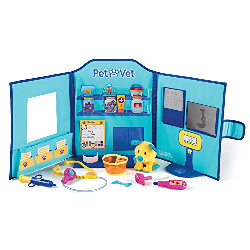 Learning Resources Pretend and Play Pet Vet Hospital