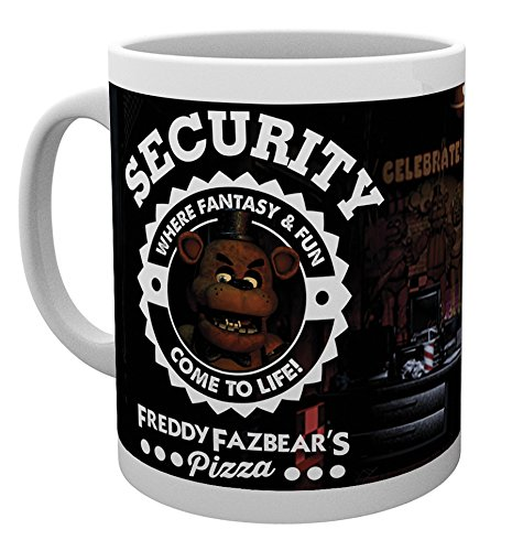 "GB eye ""Five Nights At Freddy's, Security"" Mug, Multi-Colour"