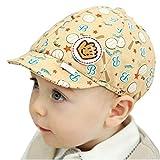 Koly Bebé Sombreros y gorras, Sombrero Pesca Para Bebé Niños, Sombrero de béisbol (Beige)