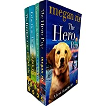 Megan rix collection hero pup, echo come home, winston and the marmalade cat and runaways 4 books set
