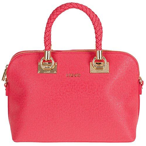 Liu Jo Shopping M Anna N65082 Damen Henkeltasche 33x24x16cm true red N65082E0087-91664