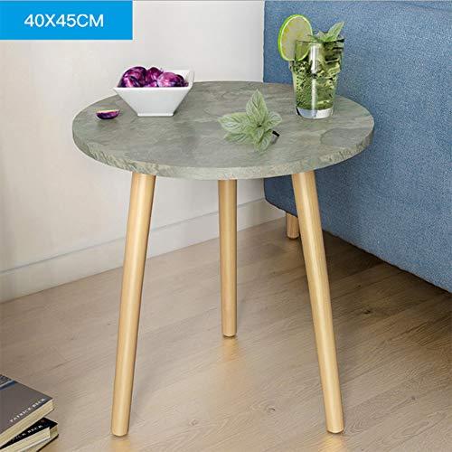 Couchtisch Modern Runde Seitensofasnack Beistelltische Nachttisch Für Wohnzimmer Und Büro (Rund Round,B