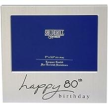 80th Compleanno Cornice FOTO CON SUPPORTO /