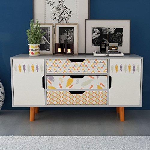 Tidyard Mesa para TV con Diseño Escandinavo