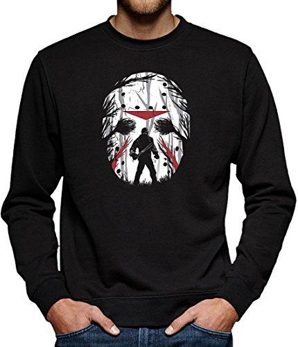 (Touchlines Merchandise Jason Friday Night Sweatshirt Pullover Herren L Schwarz)