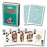 #9: Modiano Texas Poker Jumbo - Dark Green