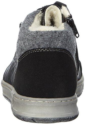 Rieker B3023, Sneakers Hautes homme Noir (schwarz/schwarz/granit / 00)