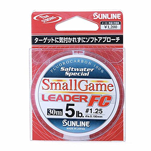 Sunline Pendelschirm. SW Special Small Game Leader FC. circa 2,72 kg, 30 m Stealth Grau