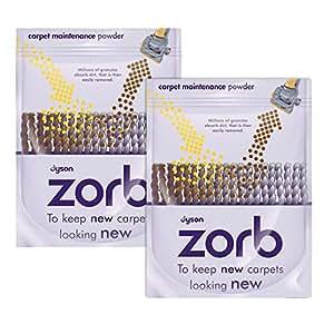 Dyson D'origine Zorb Tapis / tapis Nettoyage Poudre (Paquet de 2)