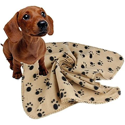 Camicia Piccolo Cane, Dog Shirt, Ouneed®Pet Dog Cucciolo del Gatto Morbido Tappeto Panno Morbido Quilt Bed Cuscino Pad (Marrone, S)