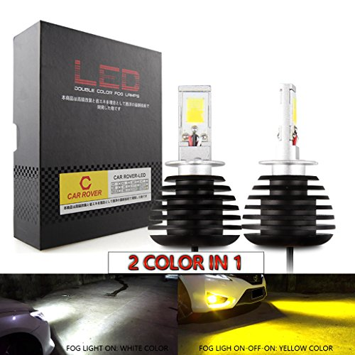 H3 LED Nebelscheinwerfer 6000K/3000K, 2800LM