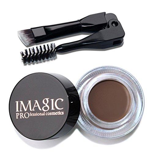 Xshuai IMAGIC Augenbrauen Enhancers Waterproof Langlebige EyeBrow Gel Cream Makeup + Pinsel 6-farbige neue (03)
