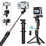 Best Sticks Bluetooth selfie - Perche Selfie Trépied Matone Bluetooth Selfie Stick Monopode Review