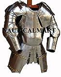 Купить NAUTICAL MART Nautische Mart mittelalterliche Ritter cuirass Brustpanzer Historische Panzer Tragbares Halloween-Kostüm