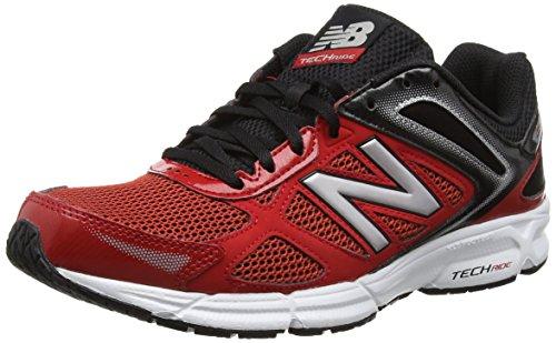 New Balance M460 Running Fitness, Scarpe Tecniche Uomo Rosso (Red/Black)