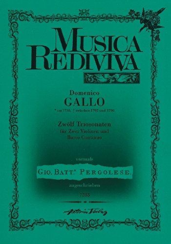 Zwölf Triosonaten: herausgegeben von Klaus-Peter Diller. 2 Violinen und Basso continuo. (Routledge Studies in Innovation, Organization and Technology)