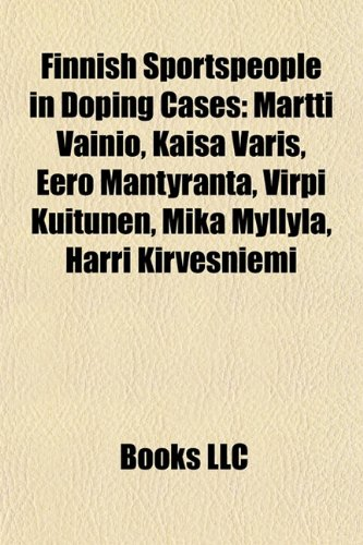 Finnish Sportspeople in Doping Cases