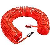 WENTS Tubo espiral neumatico 6M Rojo para compresor de aire Accesorios de bomba de aire poliuretano semiprofesional