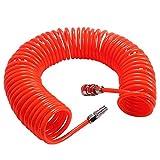Tubo espiral compresor - WENTS 6M Rojo para compresor de aire Accesorios de bomba de aire...