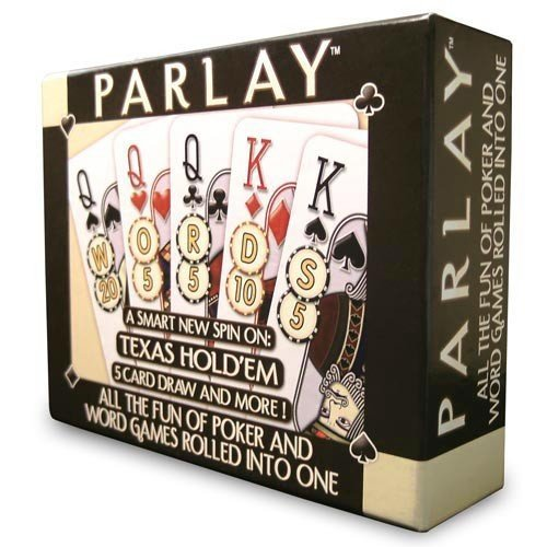Parlay Word/Poker Hybrid Card Game (RDG1111) by Real Deal Games (Card Real Deal Games)