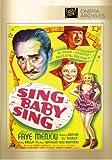 Sing Baby Sing [DVD] [1936] [Region 1] [US Import] [NTSC]
